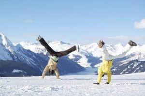 cпортивный отдых зимой
