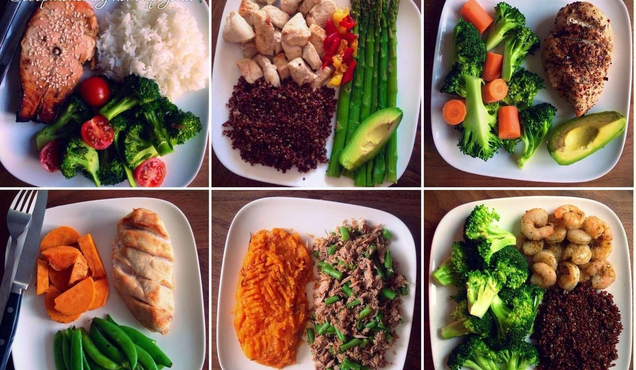 правильное питание для мышечной массы