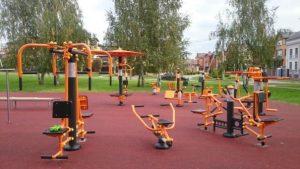 Тренажёры для уличных спортивных площадок